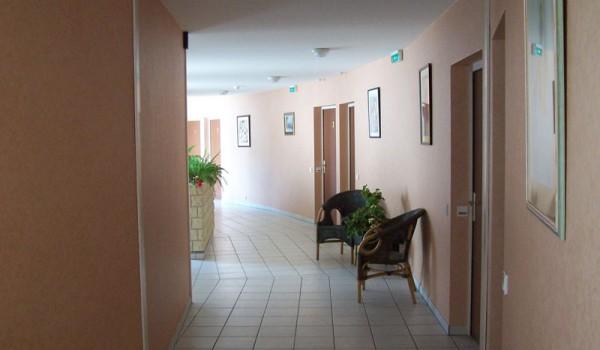 Couloir studios niveau 0